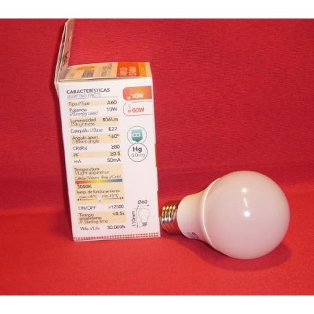 167-2003549 BOMBILA LED SENSOR 10W E 27.