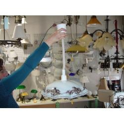 122-3041 LAMPARA TECHO SUBE-BAJA.